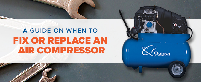 fix or replace air compressor