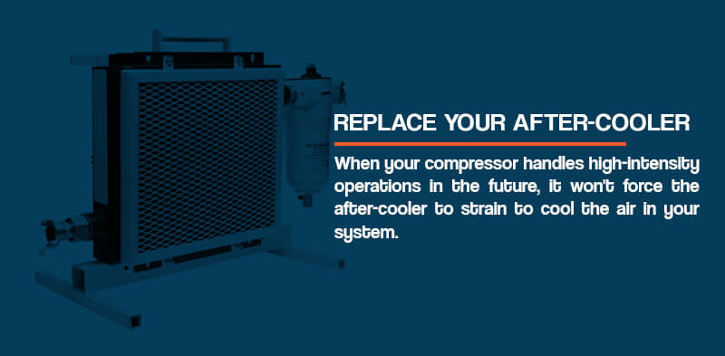 Replace your after cooler
