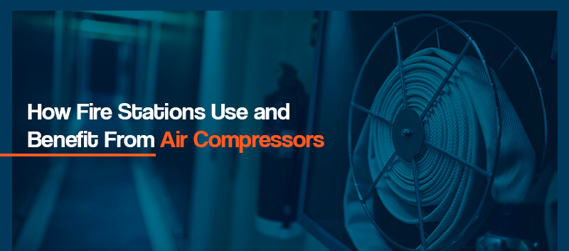 how fire stations can use air compressors