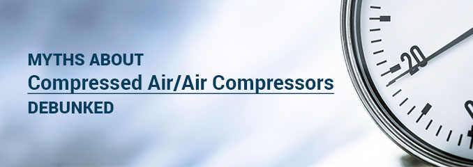 myths about air compressors