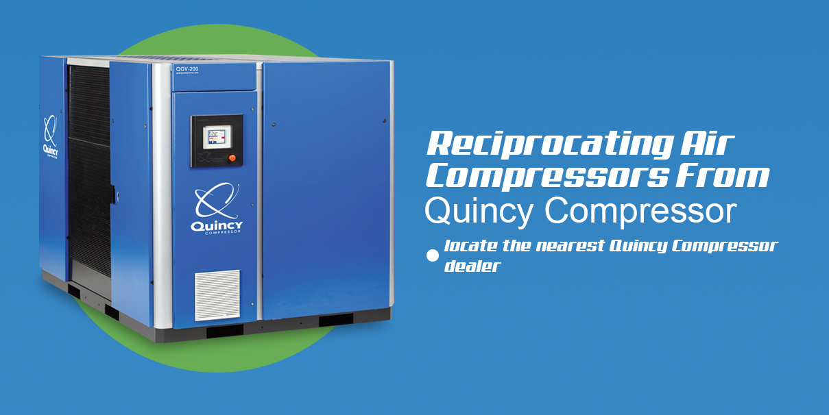 reciprocating air compressors from quincy compressor