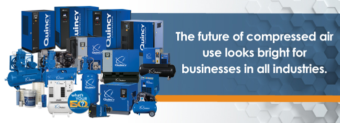 the future of compressed air use