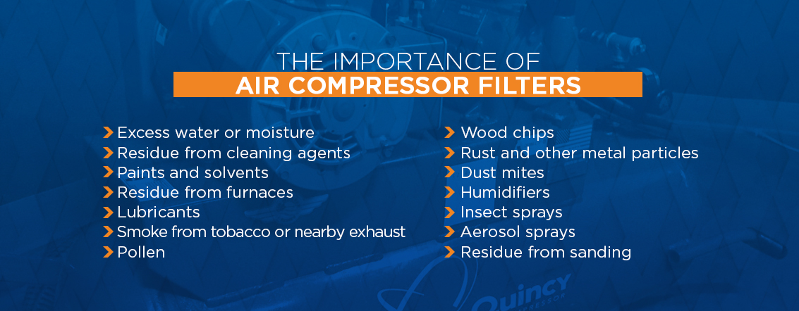 The importance of air compressor filters