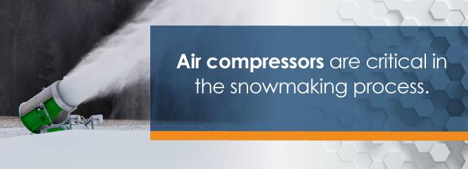 air compressors at ski resorts