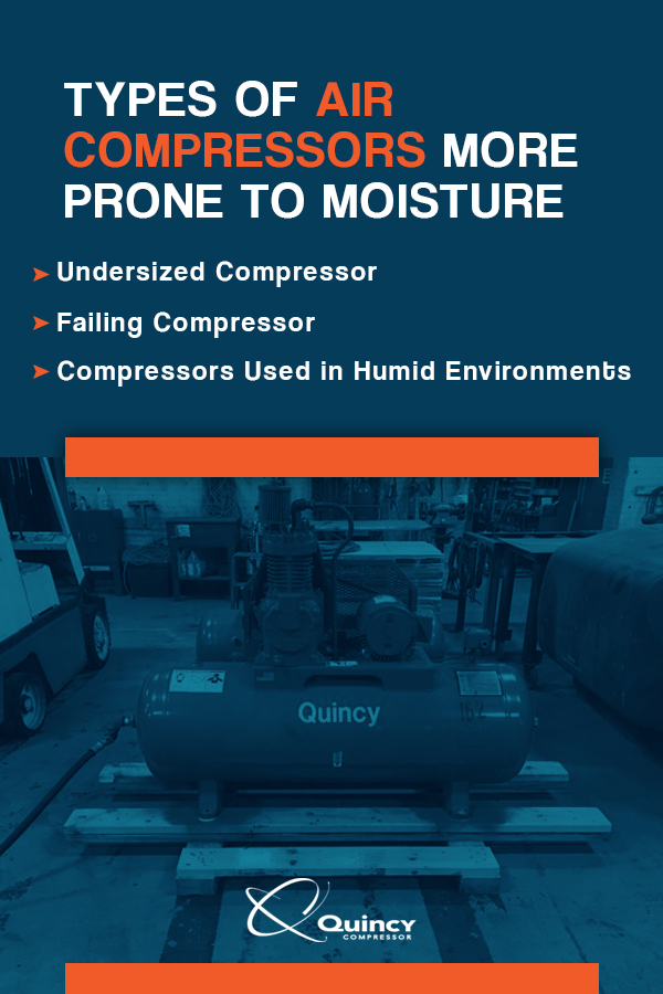 Types of Air Compressors More Prone to Moisture