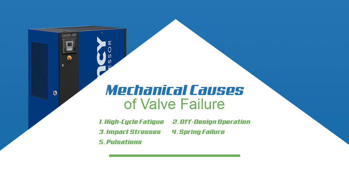 mechanical causes of valve failure