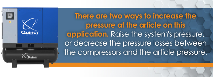 two ways to increase pressure