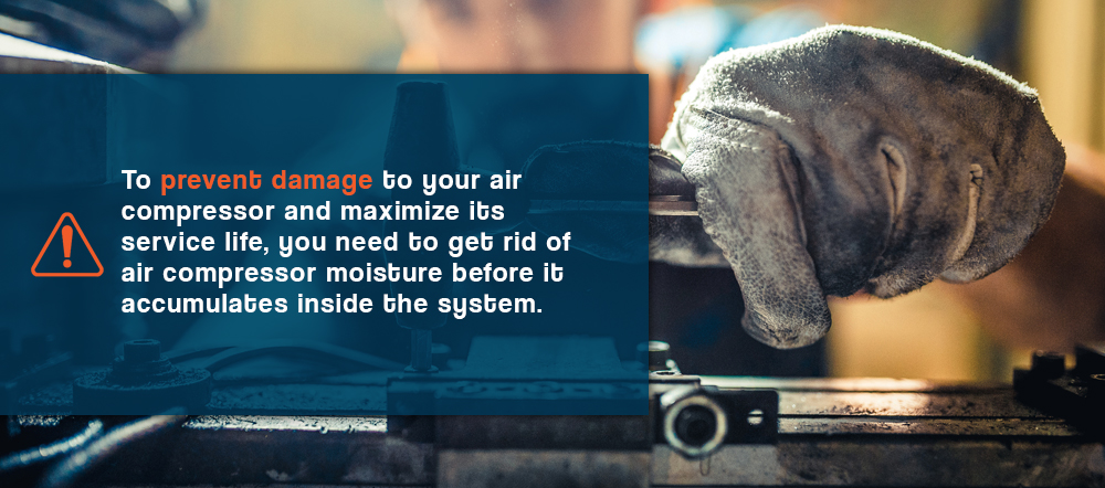 How Can Moisture Harm Your Air Compressor?