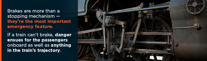 compressed air brakes in railway systems