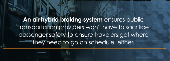 hybrid air braking system