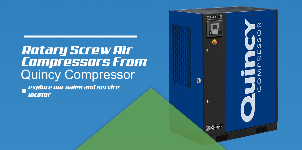 rotary screw air compressors from quincy compressor