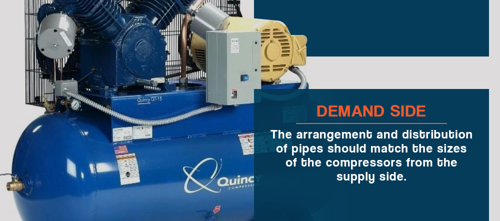 Compressed air demand