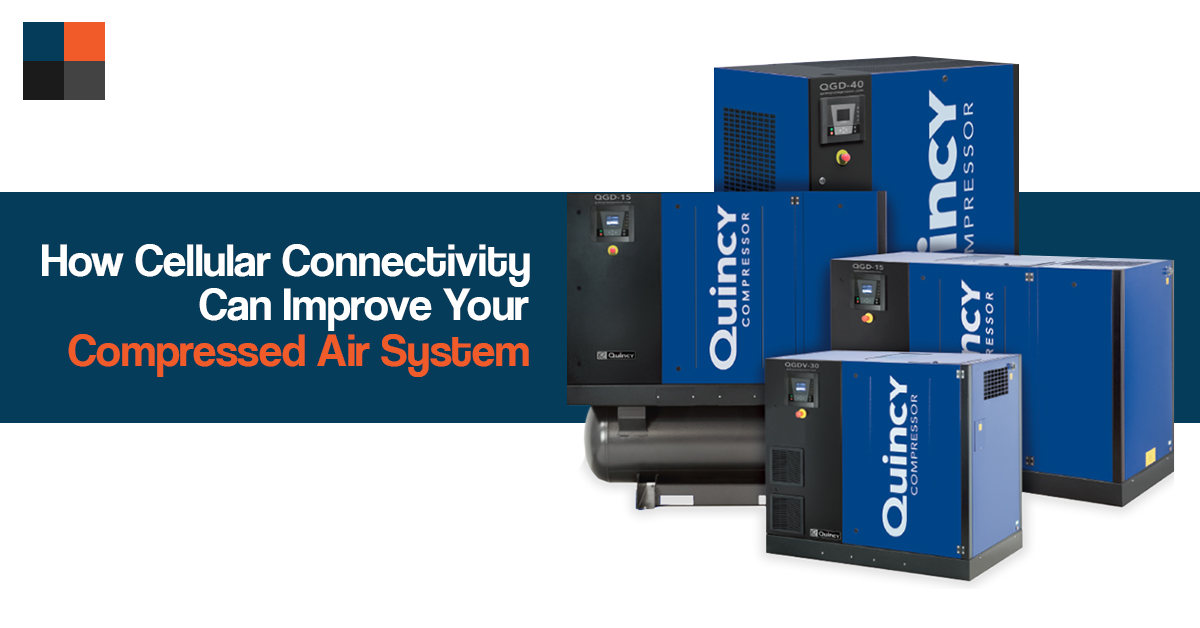 How Cellular Connectivity Can Improve Your Compressed Air System