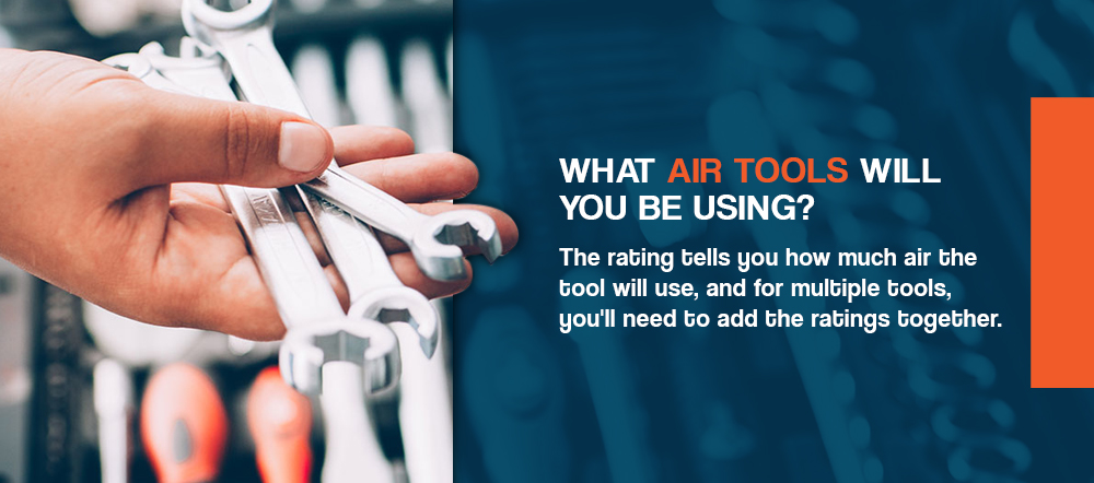 What air tools will you be using